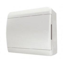Бокс ЩРН-П-12 мод.непрозр.бел дверь IP40 Tekfor (BNN 40-12-1)