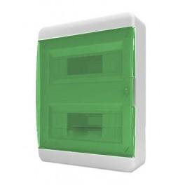 Бокс ЩРН-П-24 мод. прозр.зелен.дверь IP40 Tekfor (BNZ 40-24-1)