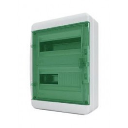 Бокс ЩРН-П-24 мод. прозр.зелен.дверь IP65 Tekfor (BNZ 65-24-1)