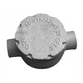 Коробка алюминиевая взрывозащищенная КПА-50