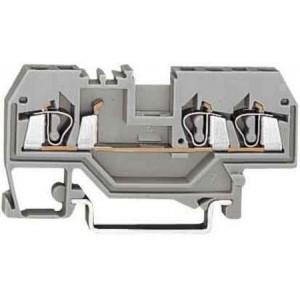 Клеммы 224-201 Wago, 1,0-2,5мм2, 2 провода (уп.-50шт.)