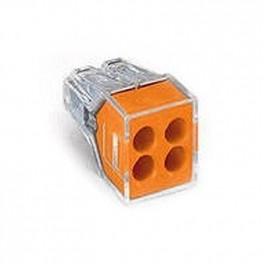 Клеммы для распред. коробок FJ-104 1,0-2,5мм2 аналог773-324 Wago (уп.-100шт.)
