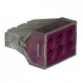 Клеммы FJ-106 1,0-2,5мм2 аналог 773-326 Wago (уп.-50шт.)