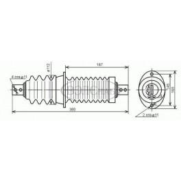 Изолятор проходной ИП-6/400-3,75 УХЛ