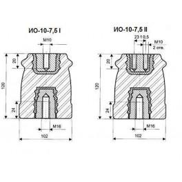 Изолятор опорный ИО-10-7,5 I У3