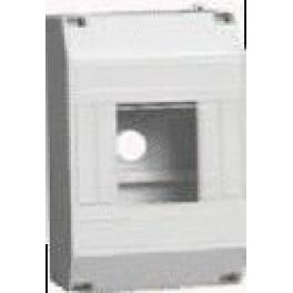 Корпус пластиковый навесной КМПн 1/ 4 на 4 мод. 125х79х58 IP20