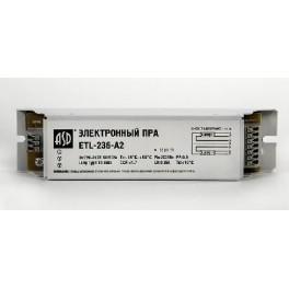 Электронный пускорег.аппарат ЭПРА ETL-236-A2 2х36Вт Т8/G13
