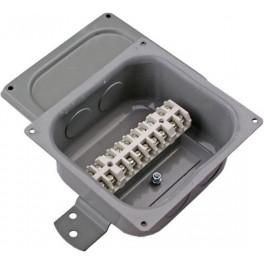 Коробка соединительная КС-10 IP40 без сальников (метал. внутри БЗ26-4П25-10)