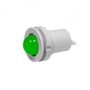 Светодиодная коммутаторная лампа СКЛ-11 Б-Л-2- 24, зеленая, биполярная, повыш. яркость 24В