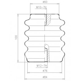 Изолятор опорный ИОР-6-3,75 I У3