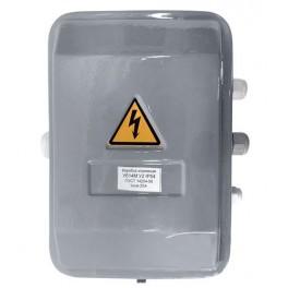 Коробка клеммная У614М У2 IP54 (PG-сальники пластик, 10 клемм)