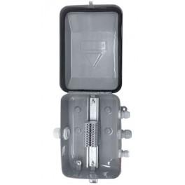 Коробка клеммная У615М У2 IP54 (PG-сальники пластик,20 клемм)