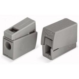 Клеммы 224-111 Wago, 0,5-2,5 мм2, 25А, 2 выхода, с пастой (100шт)