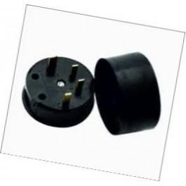 Соединительный элемент РШ-ВШ-30 32А ( 4 штырьк.) кругл. 380В