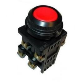 Выключатель кнопочный КЕ 012/3 красный 2з+2р